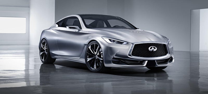 Illustration for article titled The Infiniti Q60 Concept Is A Sexy Coupe That Should Happen Now