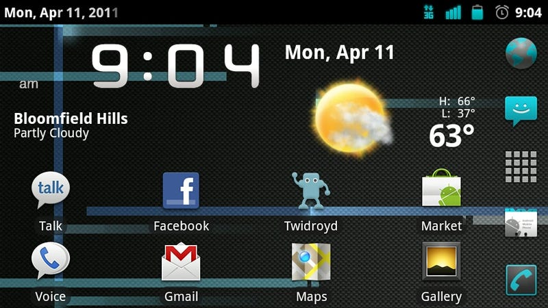 Illustration for article titled CyanogenMod 7 Brings Gingerbread, SMS Gestures, and Built-In Overclocking to Android