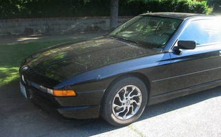 Illustration for article titled How About A 1992 BMW 850i With A 6-Speed For $9,000?
