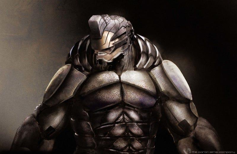 Concept Art Reveals the Sleeker Rhino Amazing Spider-Man 2 ...
