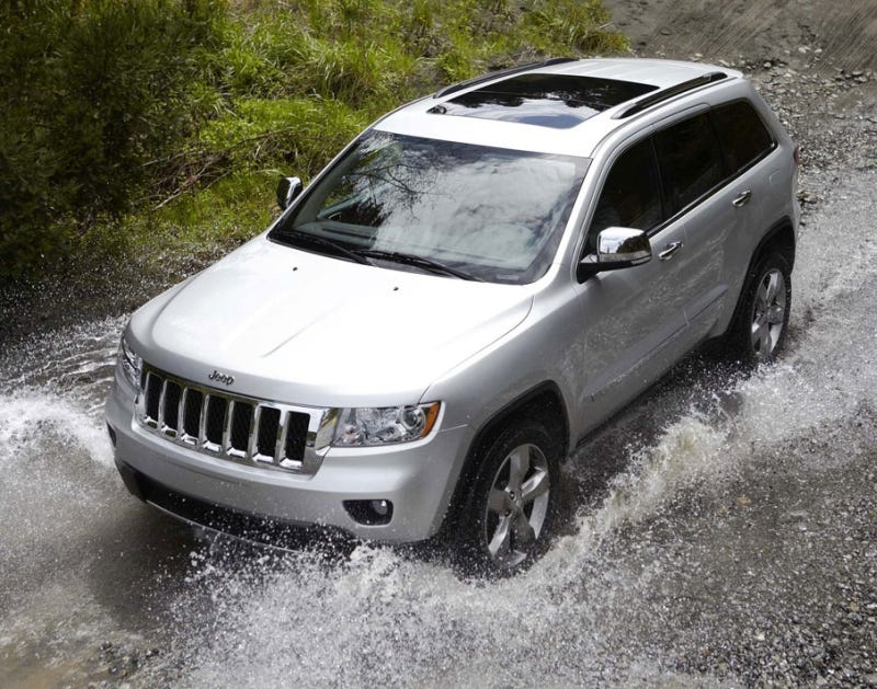 Illustration for article titled 2011 Jeep Grand Cherokee: New Look, New V6