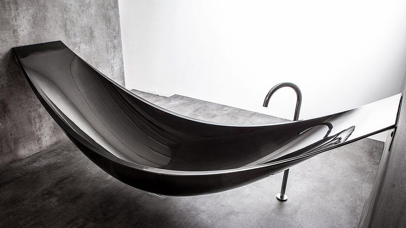 - This Insane Carbon Fiber Hammock Bathtub Is The Epitome Of Relaxation