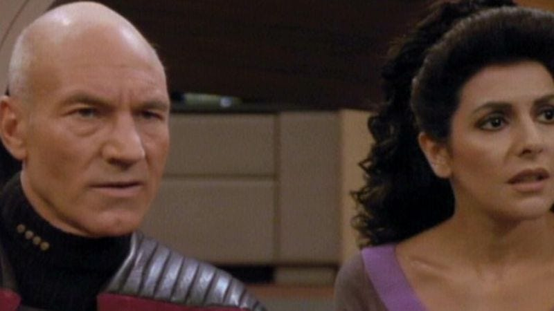 """Illustration for article titled Star Trek: The Next Generation: """"Redemption: Part Two""""/""""Darmok"""""""