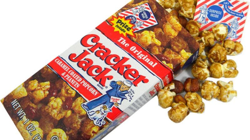 Illustration for article titled Cracker Jack prizes vanish, along with everything else good in the world