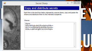 Illustration for article titled Secret Sharp Encrypts Text, Can Only Be Decrypted By a Group