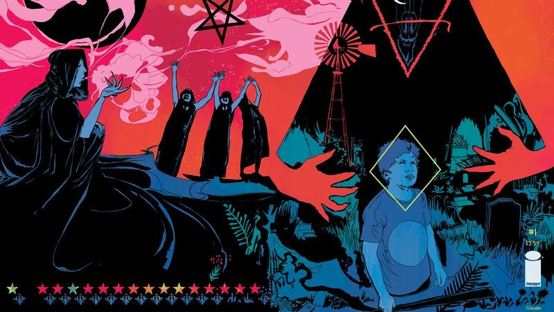 Illustration for article titled Satanists terrorize small-town America in this Winnebago Graveyard exclusive