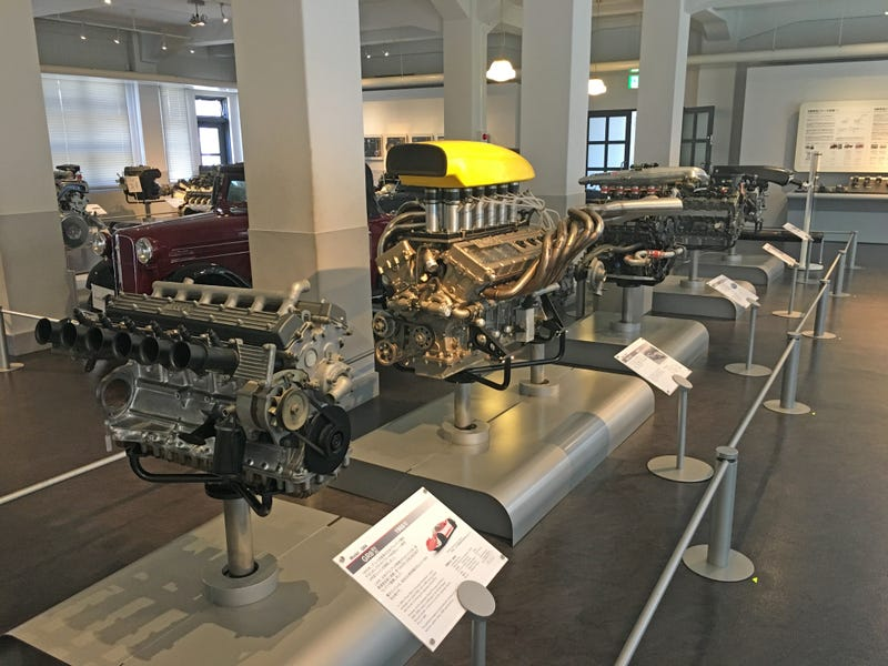 Illustration for article titled Nissan's Original Japanese Factory Is Now A Shrine To Engines