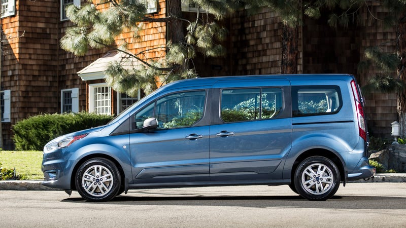 Illustration for article titled The 2019 Ford Transit Connect Wagon Is A Diesel Van For Your Awesome Parents