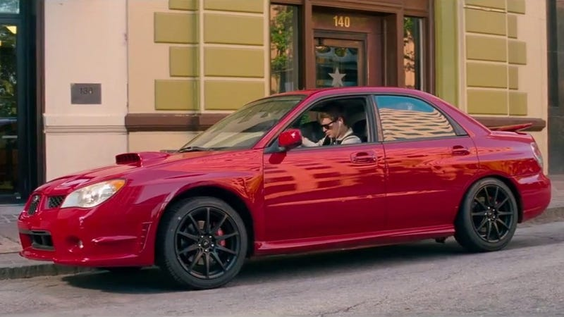 Ilration For Article Led The Subaru Wrx From Baby Driver Just Sold 69 100