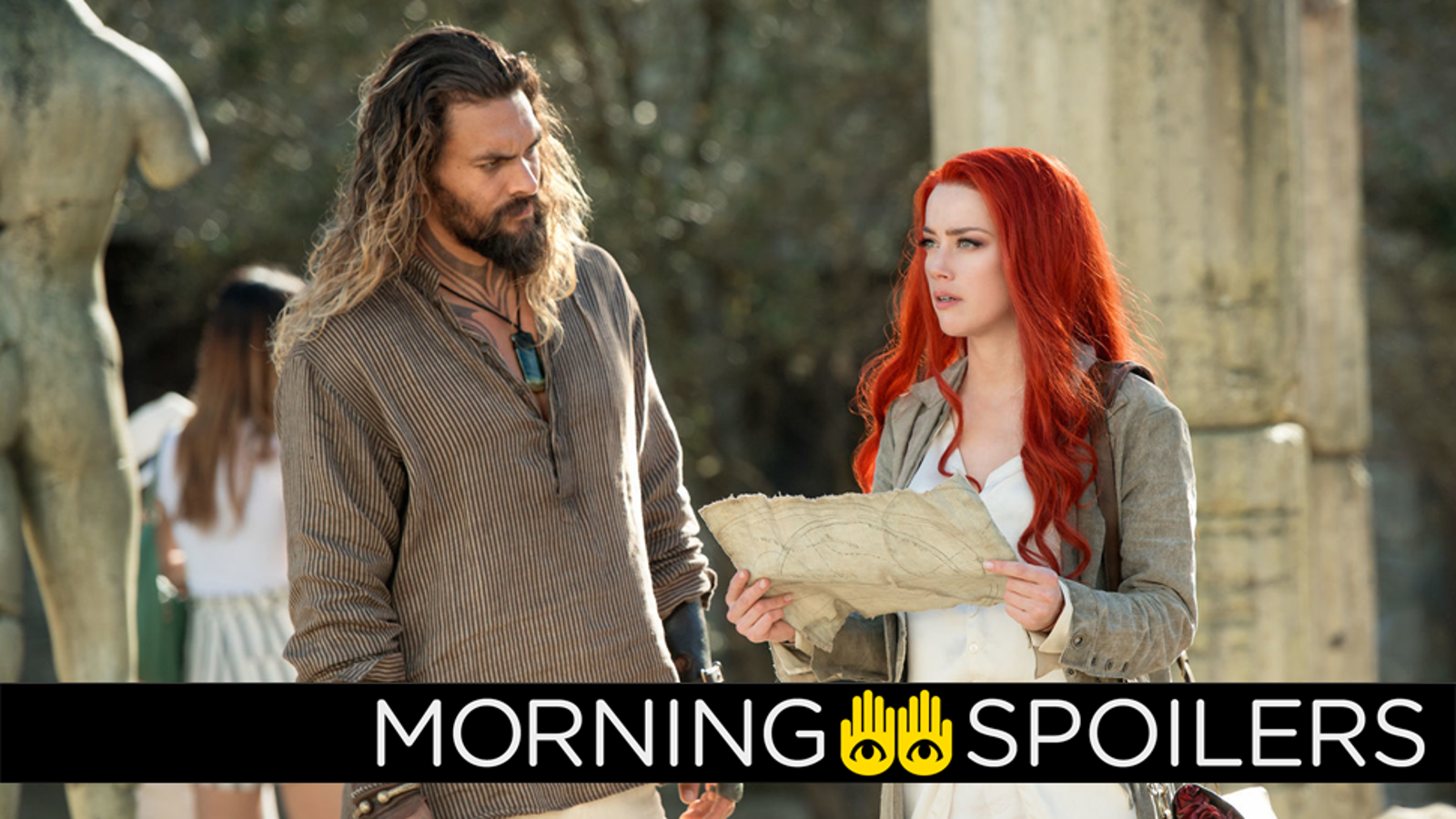An Oddly Pukey Update From Aquaman, and Work Begins on the Picard Spinoff