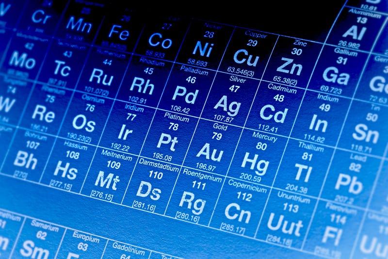 Illustration for article titled Confirman la existencia de un nuevo elemento químico desconocido