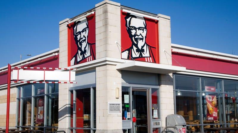 A KFC branch in Suffolk, England.
