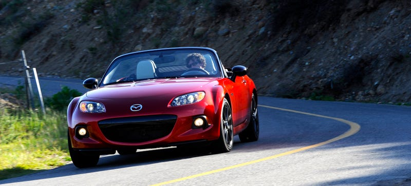 Illustration for article titled Why Did It Take So Long For The 25th Anniversary Miata To Sell Out?