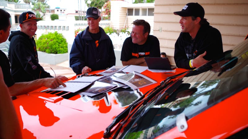 Illustration for article titled Robby Gordon Casually Wins Big Off-Road Race On His Way Home From One
