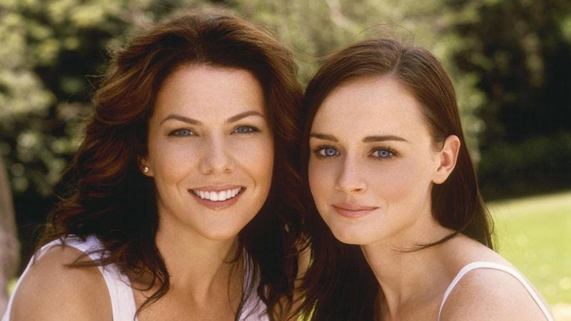 Illustration for article titled Gilmore Girls to reunite, and some writers from Dawson's Creek will be there, too