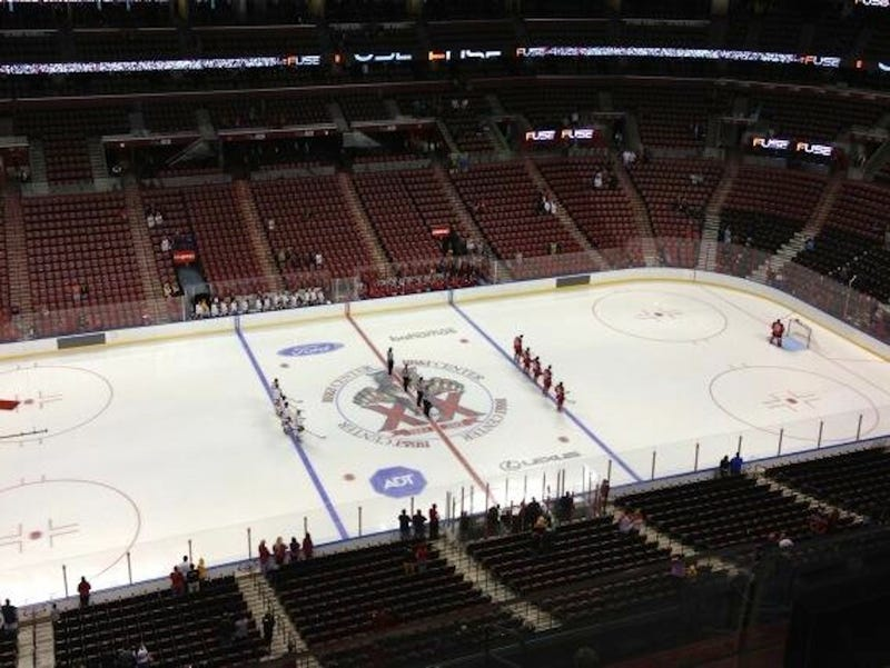 Illustration for article titled The Florida Panthers Really Packed 'Em In For Their Preseason Opener