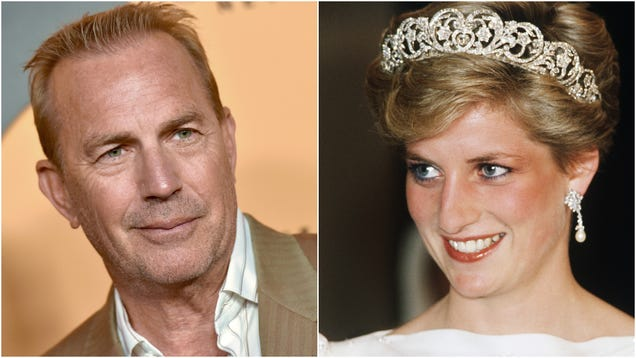 Kevin Costner says Princess Diana wanted to be in The Bodyguard 2