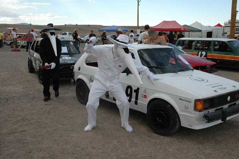 Illustration for article titled Themes at the 24 Hours of LeMons Reno-Fernley