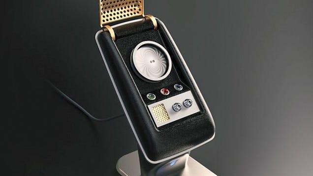 this bluetooth star trek communicator is bad news for my. Black Bedroom Furniture Sets. Home Design Ideas