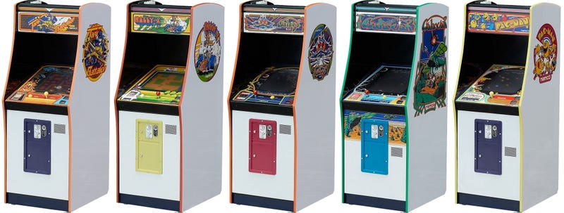 Illustration for article titled Put an Entire Arcade on Your Desk With These Immaculately Detailed Miniature Replicas