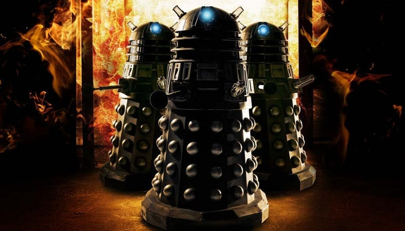 Illustration for article titled If you weren't scared of Doctor Who as a child, you missed out on a crucial experience