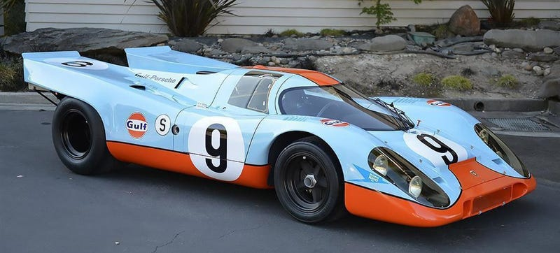 Illustration for article titled I Might Rob Banks To Buy This $20 Million+ 1969 Gulf Porsche 917K