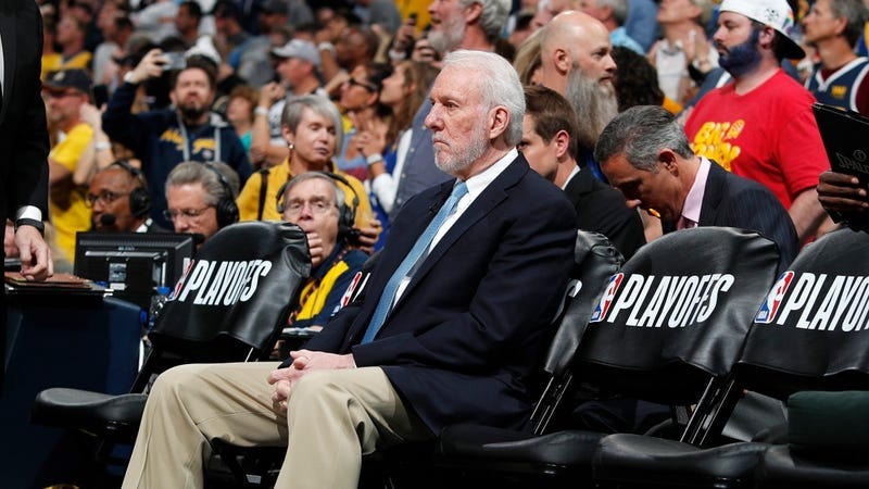 Illustration for article titled In Denver, No One Could Hear Gregg Popovich Scream