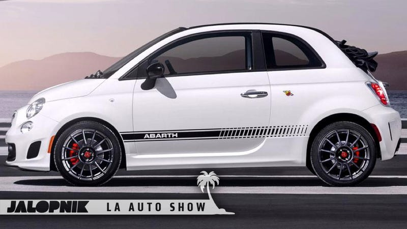 Illustration for article titled Fiat 500c Abarth: Being Topless Just Makes It Sexier