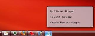 Illustration for article titled ViGlance Converts the Vanilla Taskbar into a Windows 7-like Superbar