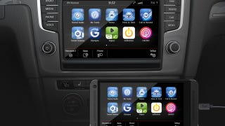 Illustration for article titled ​Apple CarPlay And Android Auto Coming To Volkswagens This Year