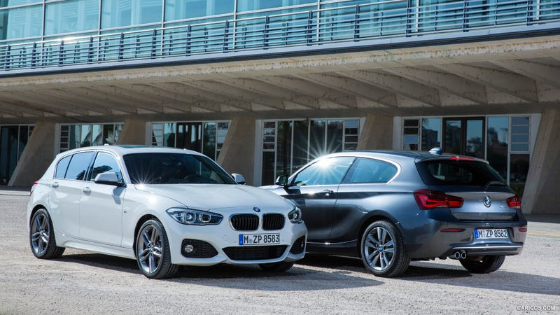 Illustration for article titled The BMW 1-Series Isn't Completely Ugly Anymore