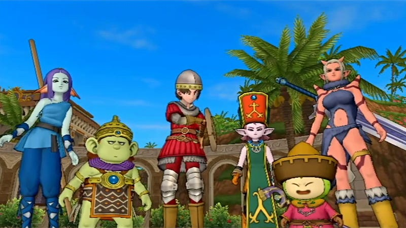 Illustration for article titled The Playable Races of Dragon Quest X