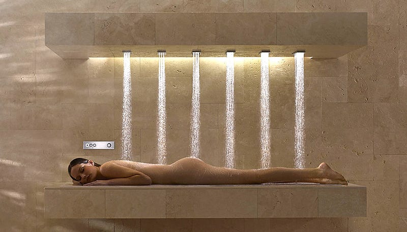 Horizontal Showers: Good Idea or Great Idea?