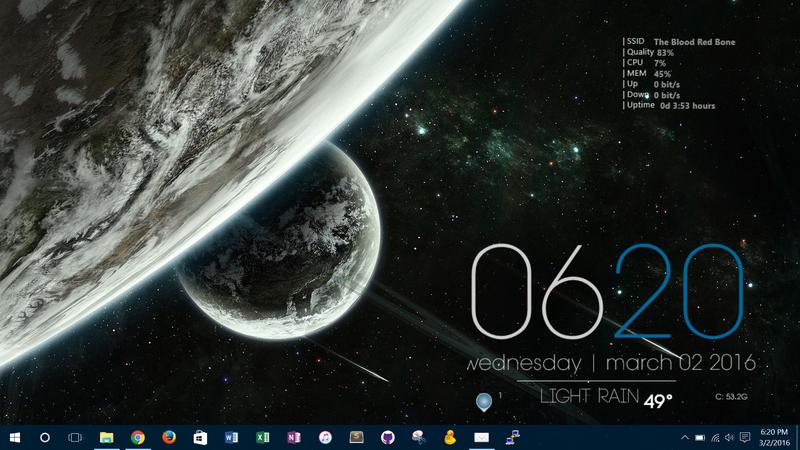 The Dark Planet Desktop