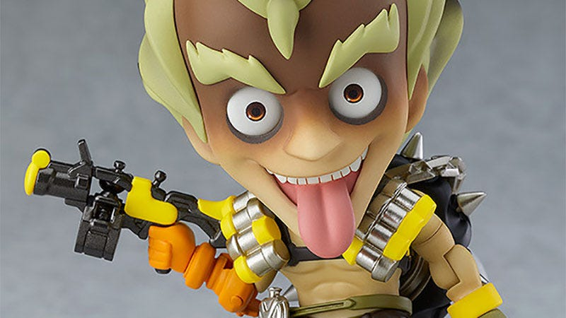Illustration for article titled Junkrat Toy Is A Tiny Terror