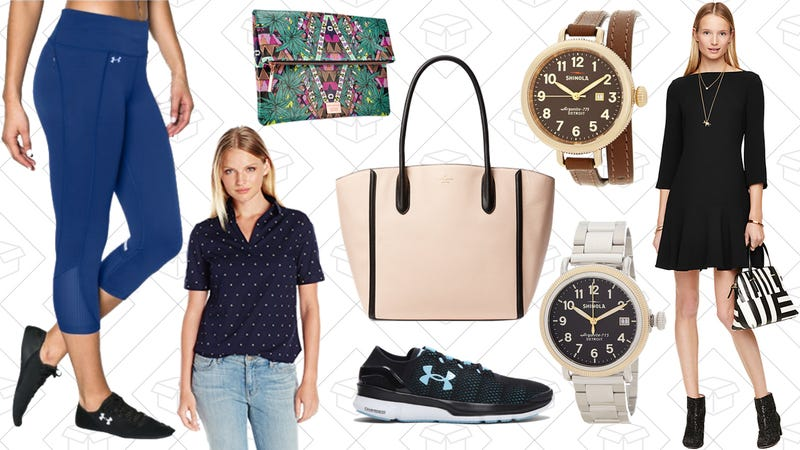 Illustration for article titled Today's Best Lifestyle Deals: Dockers, Under Armour, Shinola, Mara Hoffman for Sephora and More