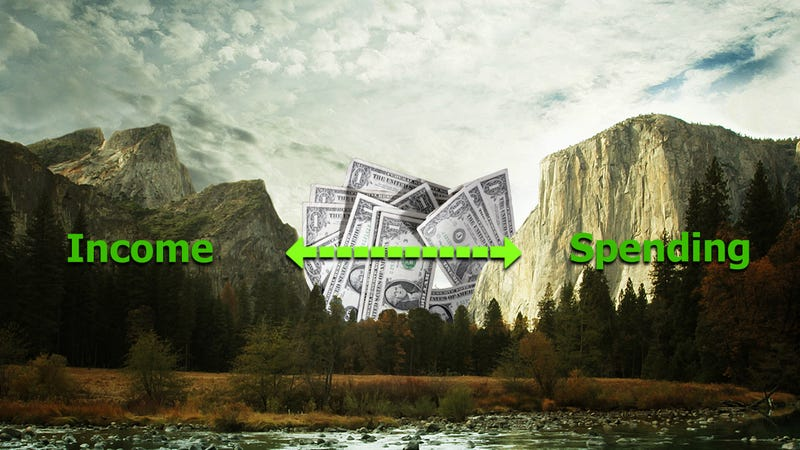 """Illustration for article titled Why """"The Gap"""" Is the Personal Finance Number That Matters the Most"""