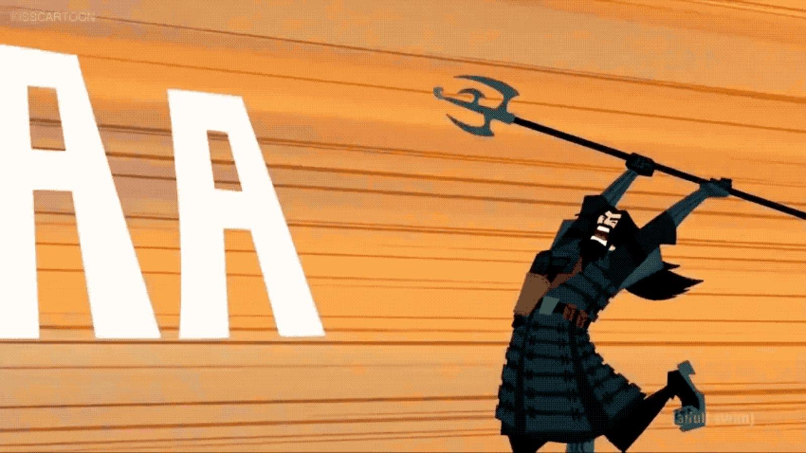Samurai Jack Creator on Season 5's Opening: 'VROOOOOOOM BLAMABLAMABLAMABLAM'