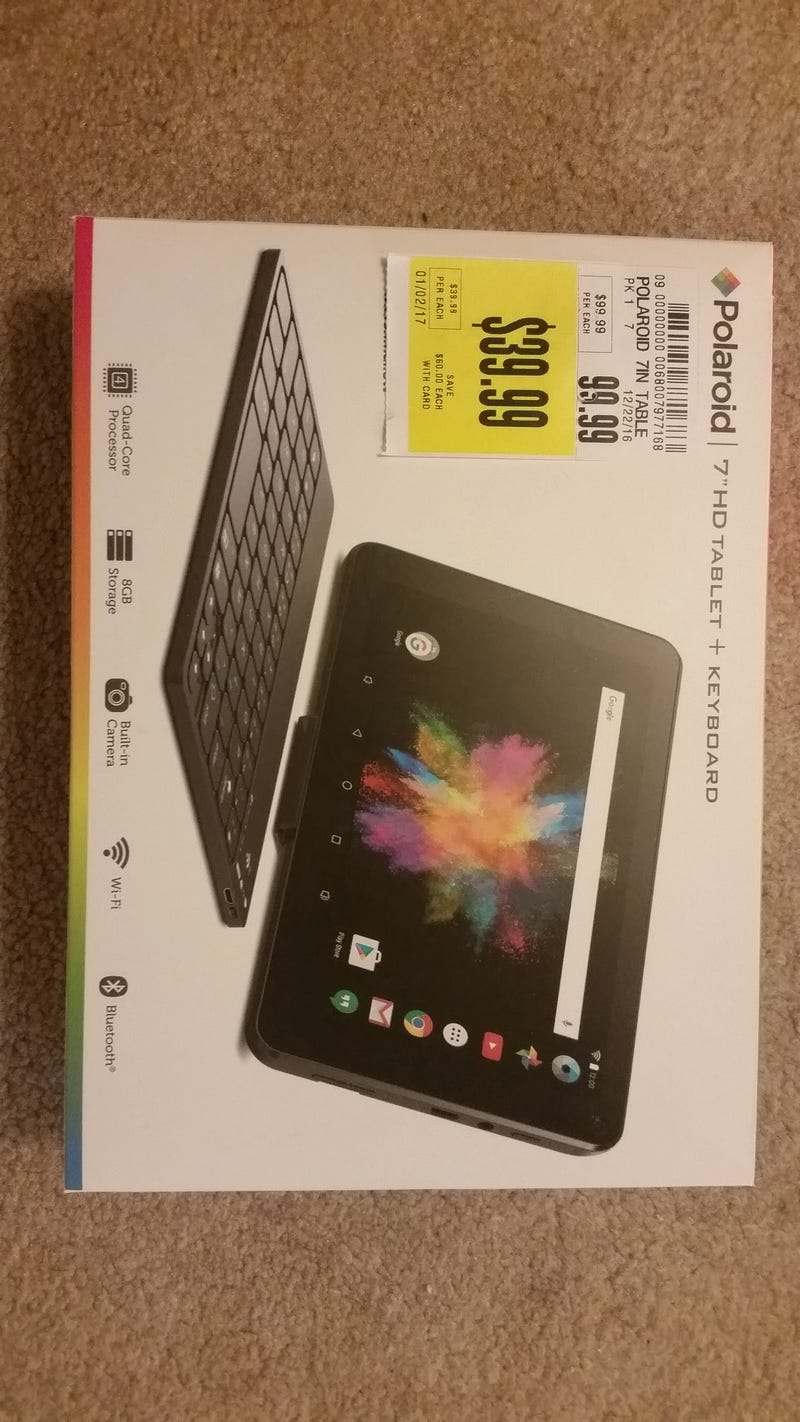 Illustration for article titled $40 Android tablet?