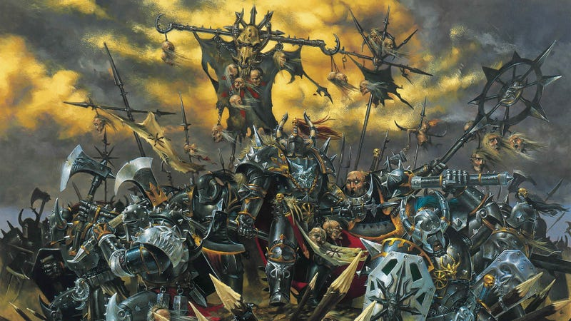 Illustration for article titled Total War: WARHAMMER Accidentally Announced