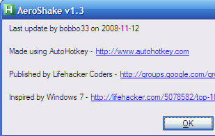 Illustration for article titled Aero Shake Clears Your Pre-Windows 7 Desktop