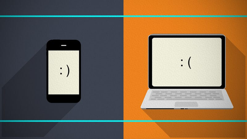 Illustration for article titled The Everyday Tasks Your Phone Does Better Than Your Computer