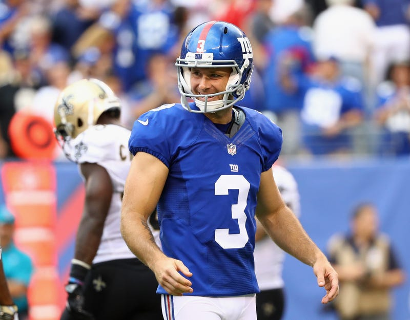 Kicker Josh Brown of the New York Giants Al Bello/Getty Images