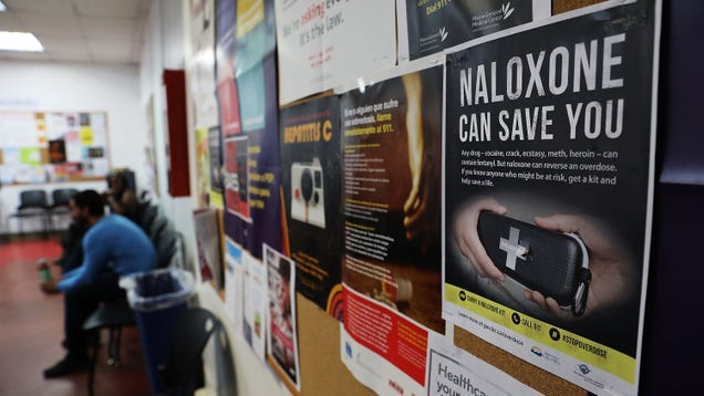A Generic Version of Opioid Overdose Antidote Naloxone Just Landed FDA Approval