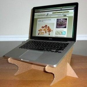 Make the easiest cardboard laptop stand | treehugger.