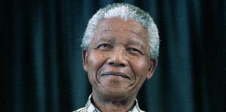 Former South African President Nelson Mandela (Per-Anders Pettersson/Getty Images News)