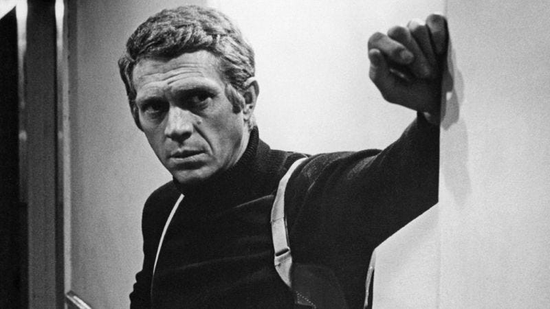 Illustration for article titled A Steve McQueen biopic is in the works, Hollywood's coolest dudes want to play him