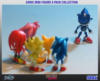 Illustration for article titled First 4 Figures Gives You A Little Sonic And Friends