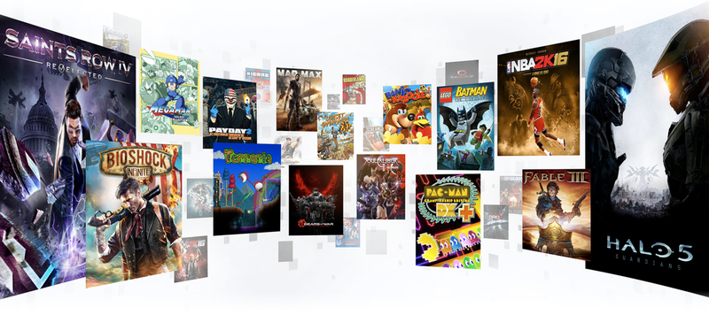 This is a great selection...of pretty old games. (Image: Screenshot)