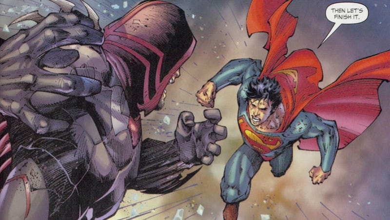 Illustration for article titled New Superman Story Tries to Re-Write Man of Steel Movie's Big Mistake
